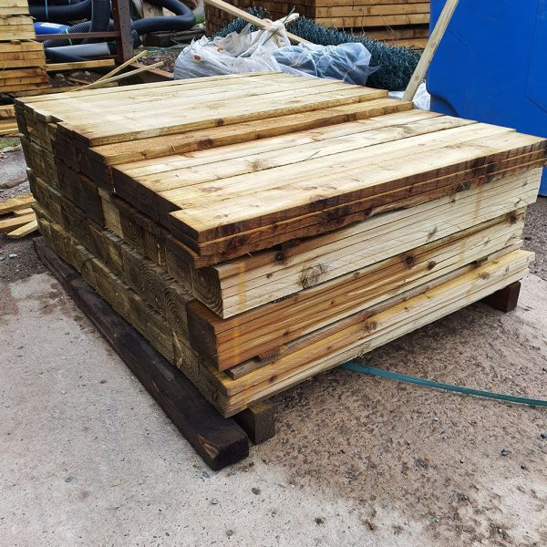 1.2m x 120mm x 16mm wooden boards