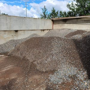 Atlanta gravel or pea gravel by tonne