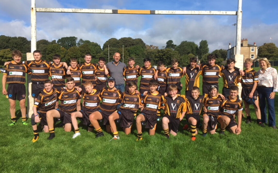 Egremont Rugby Union 14s & 15s team strip