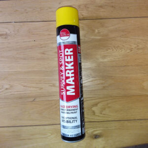 Marker Survey Paint yellow red