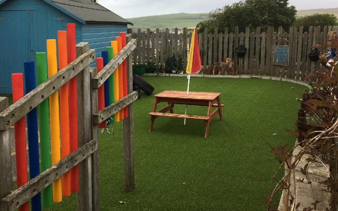 st bees primary play area