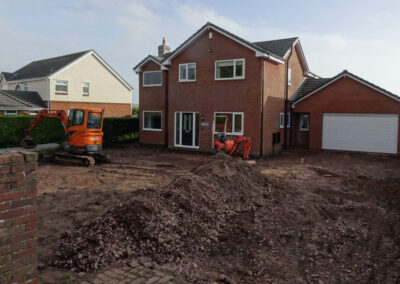 egremont moving earth to make way for paving