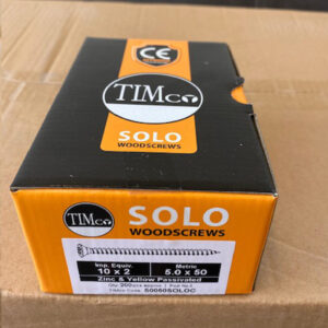 woodscrew solo 10x2 5x50mm 200pcs timco